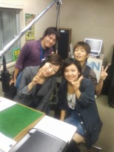 フレッシュワーク長崎の奥村さん(写真左下)と